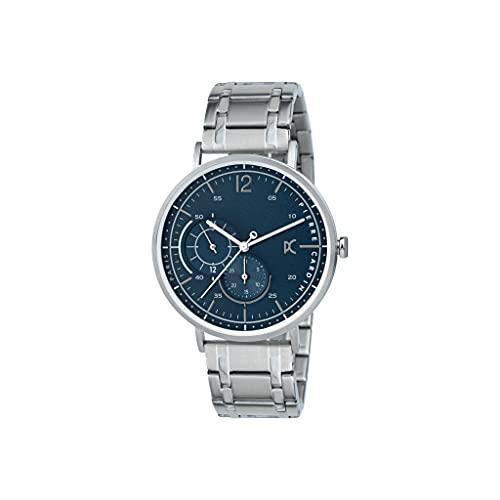 Pierre Cardin Reloj de pulsera de cuarzo para hombre de acero inoxidable con correa de acero inoxidable – Bonne Nouvelle Stride – CBN.3027