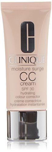 Clinique Moisture Surge All Skin Types CC SPF 30 Hydrating Colour Corrector Cream, Light Medium, 1.4 Ounce