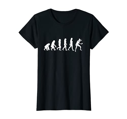 Mujer Camiseta de jugador de tenis de mesa evolución mujer tenis Camiseta