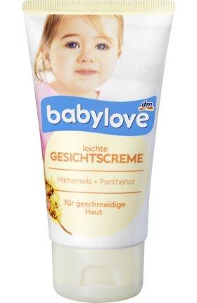 babylove Pflegecreme Gesichtscreme, 75 ml