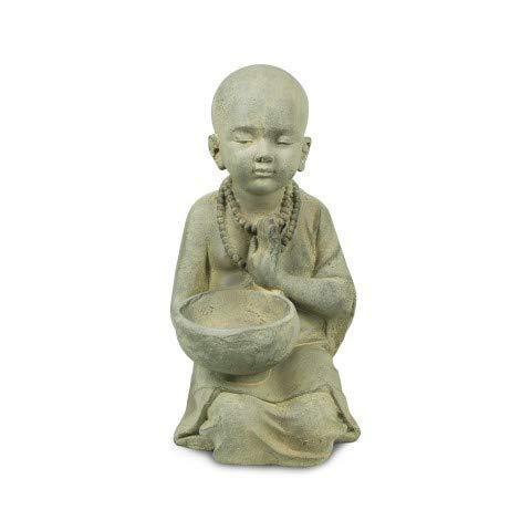 Art Deco Home - Figura Resina Buda Niño 34 cm - 11858SG