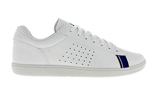 Le Coq Sportif, COURTSTAR White 1910522, Sneakers Bianche per Uomo, 40