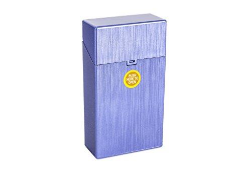 ZIGARETTENBOX für 100mm Zigarettenschachteln (Blau)