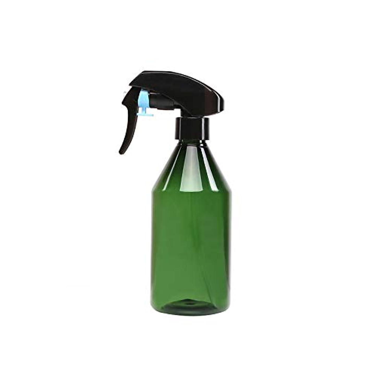 300ミリリットルプラスチック空のスプレーボトル/スーパーファインミストトリガースプレー/詰め替え式スプレーコンテナ(グリーン)