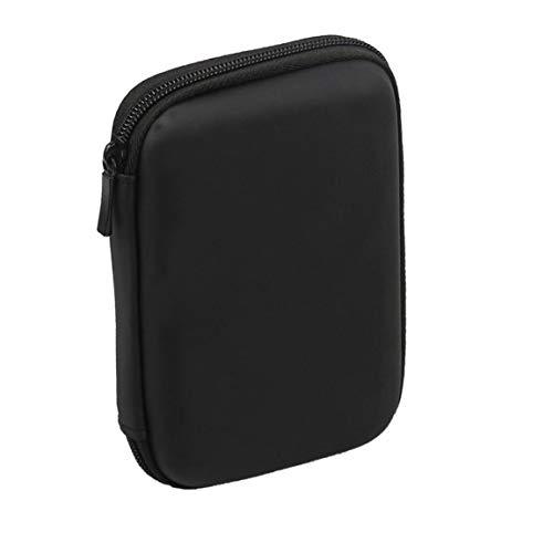 Sanfiyya Mini USB 3.0 / USB 2.0 de 1 TB de Disco Duro móvil Externo 301558 Caso Unidad de Disco Duro portátil Compacto (Negro)