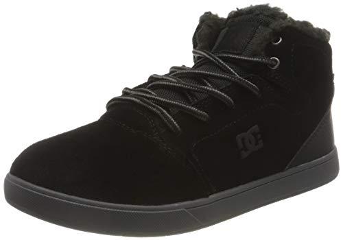 DC Shoes Crisis HIGH Winter Sneaker, Black, 33 EU