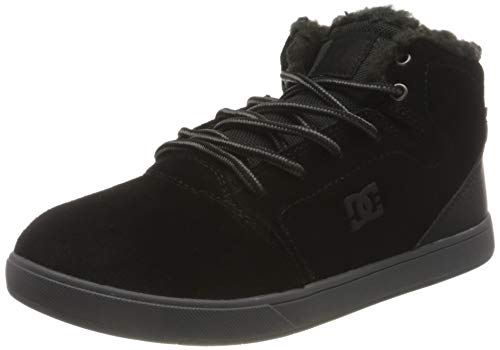 DC Shoes Crisis HIGH Winter Sneaker, Black, 39 EU