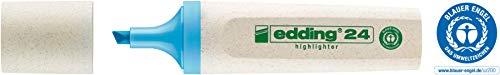 edding Textmarker Highlighter 24 EcoLine, nachfüllbar, hellblau