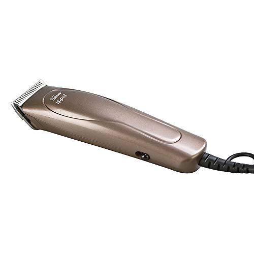 HI.Pet Cortapelos Eléctrica con Cable para Perros con Accesorios PTE1, Set de Aseo para Animales Que Incluye Cepillo y Peine de Metal, Pinzas y Limas de Uñas, Kit de Estuche Ordenado