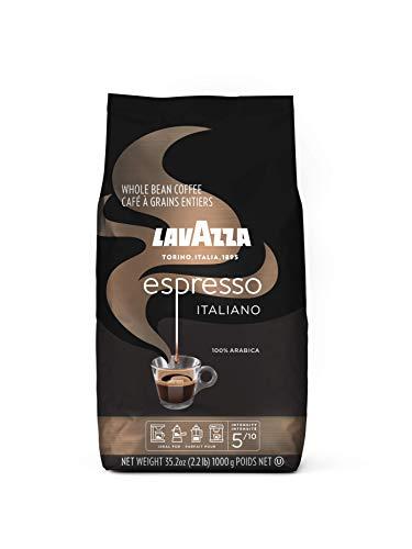 Lavazza Espresso Italiano, 100 Percent Arabica Medium Roast Coffee Beans,...