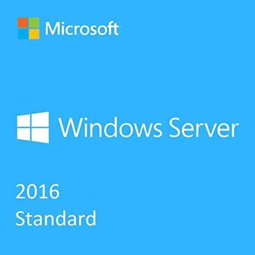 Windows Server Standard 2016 | Clé d'activation licence originale | Envoi en 24 heures | Livraison gratuite par e-mail