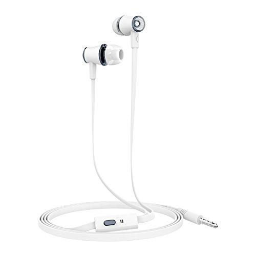 Ksix Go&Play - Auriculares Small 3 con micrófono, Color Blanco