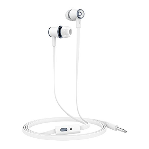 Ksix Go&Play - Auriculares Small 3 con micrófono, Color Blanco