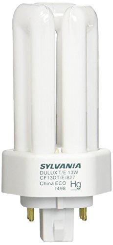 Sylvania 20891 Compact Fluorescent 4 Pin Triple Tube 2700K, 13-watt