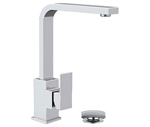 Daniel Rubinetterie - Miscelatore per lavabo con Canna Girevole Design Quadro Skyline
