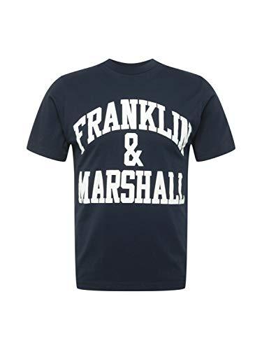 Franklin and Marshall Camiseta Azul Marino