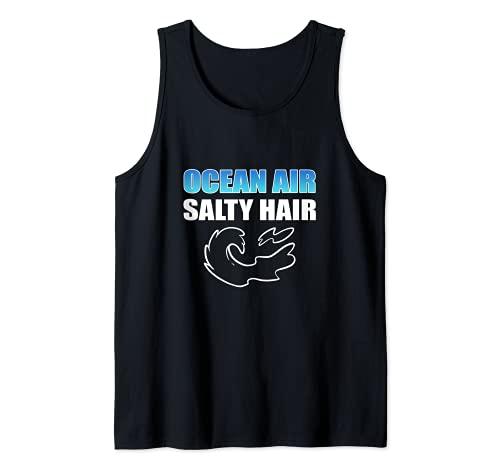 Pelo salado Camiseta sin Mangas