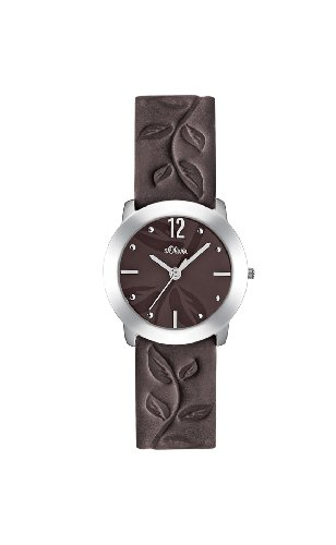 s.Oliver Damen-Armbanduhr Analog Quarz SO-1839-LQ