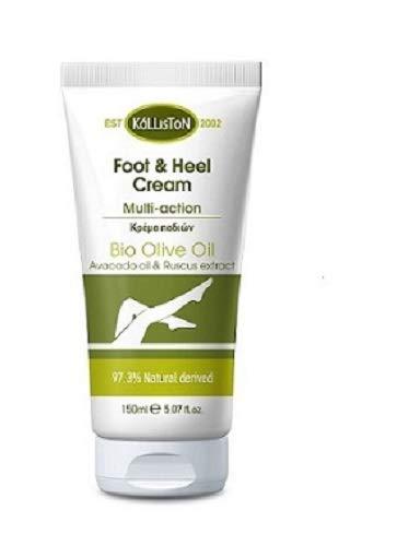Natürliche Fuß und Heil Creme mit Avocadoöl 150ml Kalliston Kreta Griechenland Naturprodukt Fußcreme Footlotion Avocado Avokado Öl
