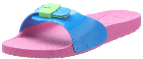 Scholl, Scholl POP, Scarpe basse Unisex - adulto, Multicolore (Mehrfarbig (Pink/ Turquoise/Lime Green 1574)), 37