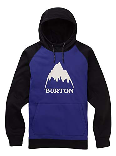 Burton Herren Crown Bonded Fleece Pullover, Royal Blue/True Black, M