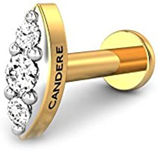 Amazon in: Candere By Kalyan Jewellers - Nose Rings & Pins / Women