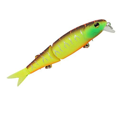 JOYOTER Señuelos de Pesca Wobbler Fácil de atrapar Swimbait Cuerpo de pez Realista Jiggings de Gancho Fuerte para Agua Dulce% A