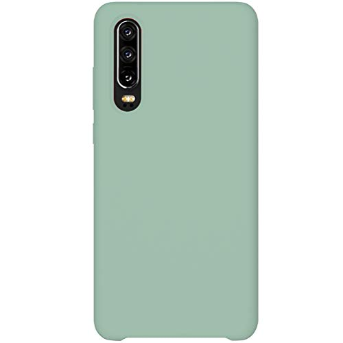 2Buyshop kompatibel mit Huawei P30 lite P30 Pro Hülle, Weiche Silikon Flexibel Huawei P30 lite Schutzhülle Breathable Handyhülle Huawei P30 Anti-Kratzer Stoßfest Gehäuse (Minzgrün,P30 Pro)