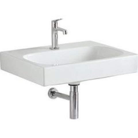 Keramag Citterio Waschtisch 500544011, ohne Überlauf, 600x500mm, Weiss mit KeraTect