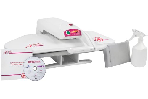 5 Janome Artistic Elna Heat Press EP100