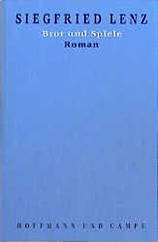 Werkausgabe in Einzelbänden, 20 Bde., Bd.4, Brot und Spiele