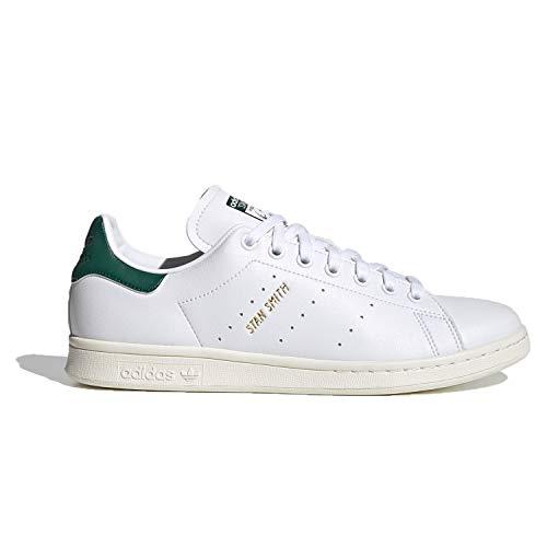 adidas Stan Smith, Zapatillas Deportivas Hombre, FTWR White Collegiate Green Off White, 41 1/3 EU