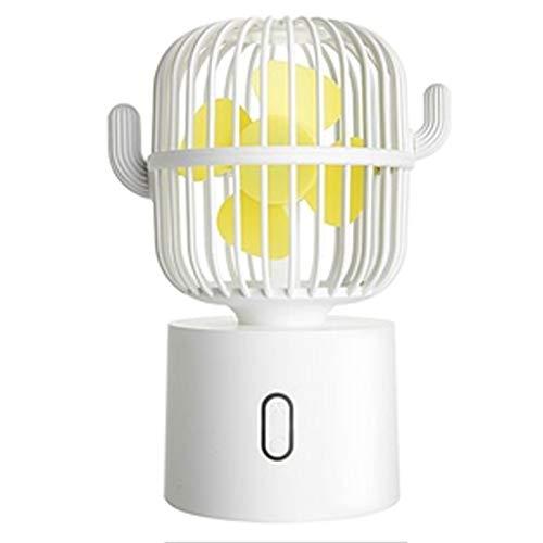 Fan Plastic Material Cactus Moving Head Fan Mini Fan For Office Bedroom Living Room Leisure Office Fitness School B
