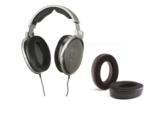 Digital DJ Gear Pacote para fones de ouvido Sennheiser HD650 com almofadas de ouvido híbridas Dekoni Audio Elite