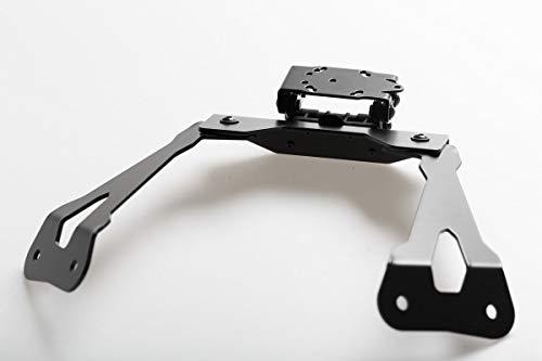SW-Motech GPS.08.646.20000/B Support pour Navi Amovible dans Le Cockpit pour Kawasaki J 300 2013 Noir