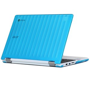 mCover Aqua Hard Shell Case for 13.3' Acer Chromebook R13 CB5-312T Convertible Laptop (Model: R13 CB5-312T)
