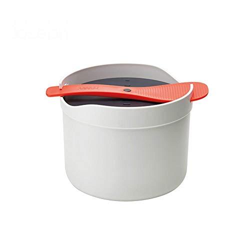 LUYISH magnetron rijstkoker grainr/rijst steamerbpa vrij kunststof, snel eenvoudig rijstkoker -2L, 7,09 x 7,09 x 5,51 inch, The Rice waterfilter in de rijstkoker