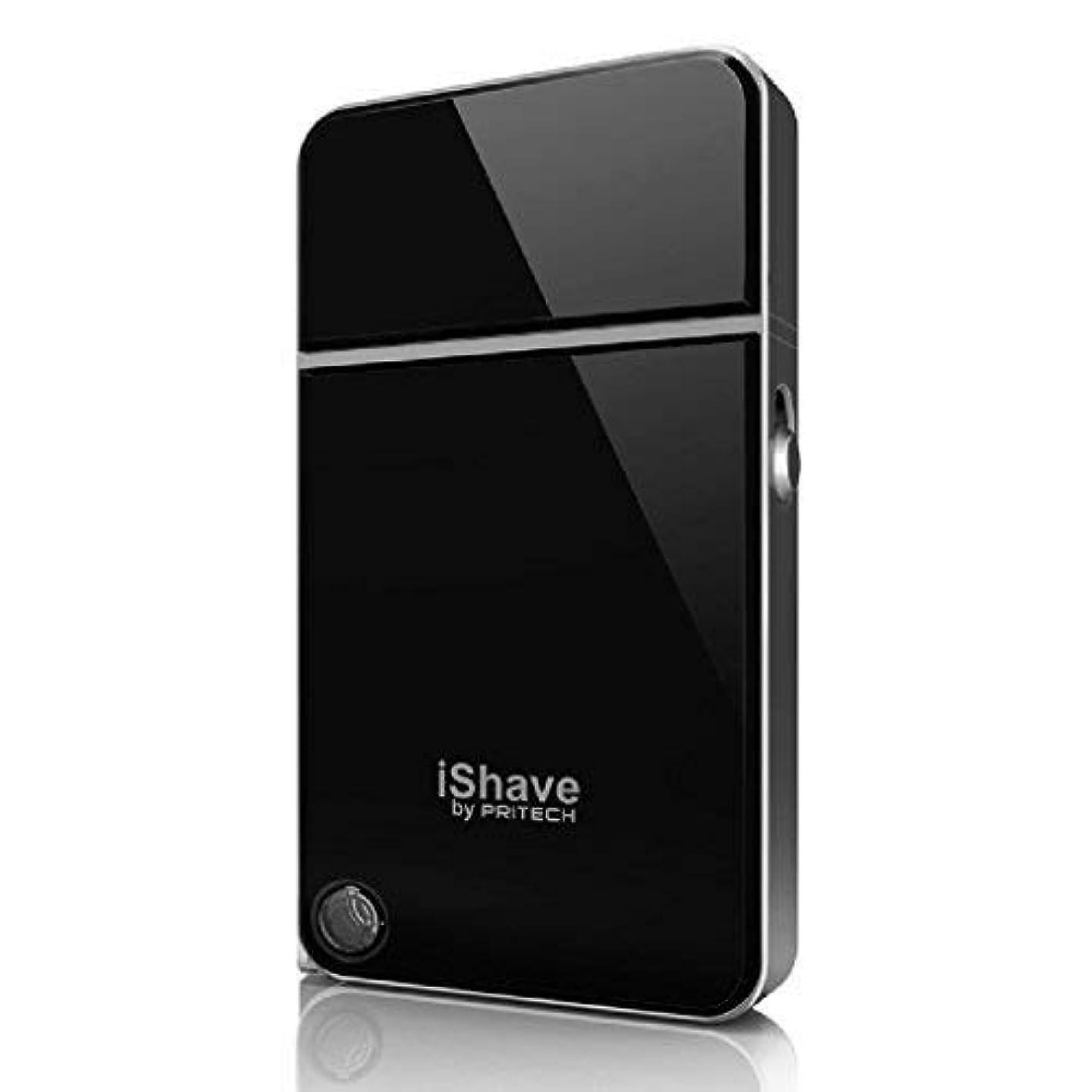 発見シリーズ差Pritech RSM-1880 ポータブル フォイル シェーバー メンズ用、USB充電 インターフェース ブラック