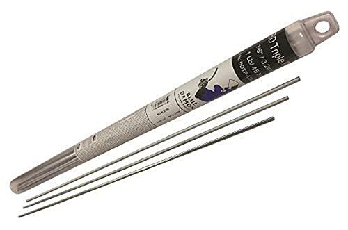 """Blue Demon BDTP-125-01T Triple Play Low Temp Aluminum-Zinc Brazing Rod 1/8"""" x 18"""" 1 Lb Tube,"""