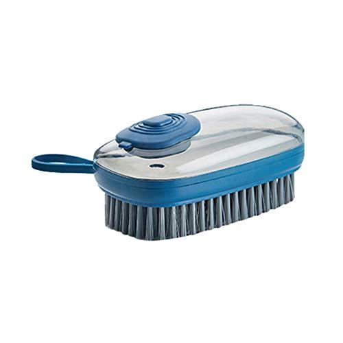 Cepillo automático de adición de líquido para lavandería, Multifuncional, hidráulico, Suave, para el hogar, para el Cabello, Armario, Fregadero, Cepillo para Tablero de Limpieza