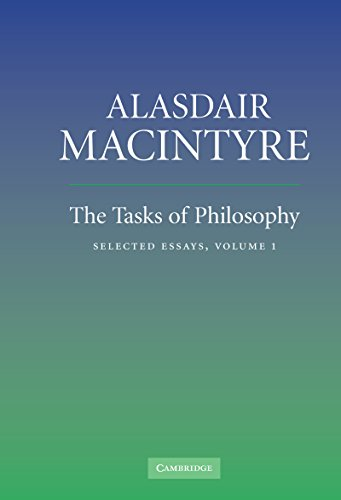 The Tasks of Philosophy: Volume 1: Selected Essays (English Edition)