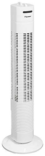 Bestron Turmventilator mit Schwenkfunktion, Höhe: 75 cm, 35 W, Weiß