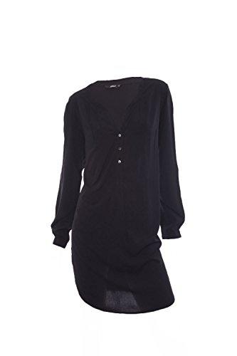 ONLY Damen Long Tunika, Farbe:Black;Größe:36