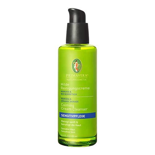 PRIMAVERA Sensitivpflege Milde Reinigungscreme Manuka Borretsch 100 ml - Naturkosmetik - reinigend, beruhigend, für sensible Haut
