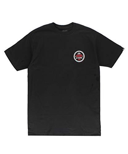 Vans Checker 66 SS T-Shirt, Nero, S Uomo