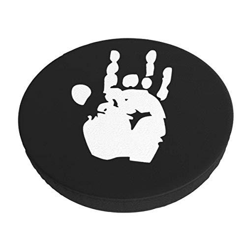 Funda de cojín para Silla de Bar Redonda Lavable extraíble a Mano Jerry Funda de cojín elástica para Taburete de 14 Pulgadas