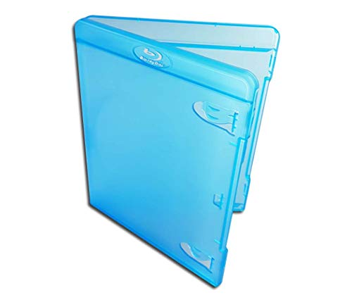 Protected Blu-Ray 11mm Leerbox im Amaray-Design (10 Stück)