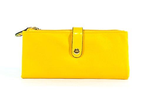 Volum Bags_ Cartera modelo Marsella amarillo