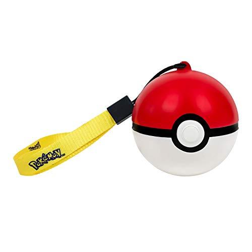 Pokemon Lampe LED Pokeball avec dragonne 9cm PVC Rouge Blanc