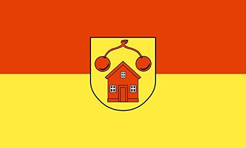 Unbekannt magFlags Tisch-Fahne/Tisch-Flagge: Gammelshausen 15x25cm inkl. Tisch-Ständer